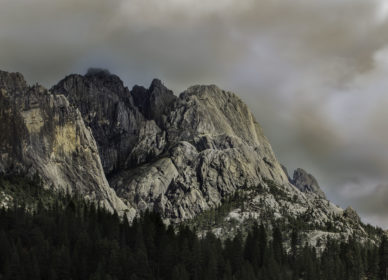 Storm Over Castle Crags